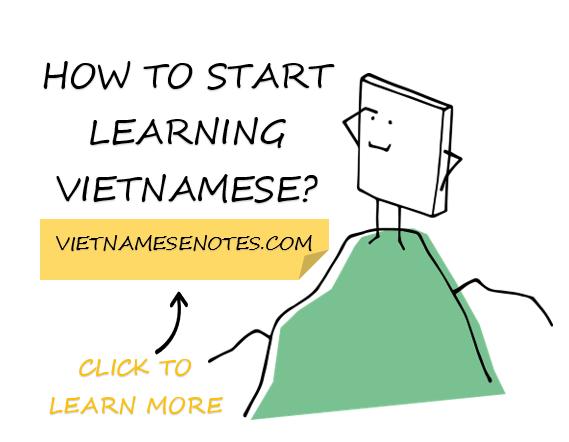 how to start learning Vietnamese