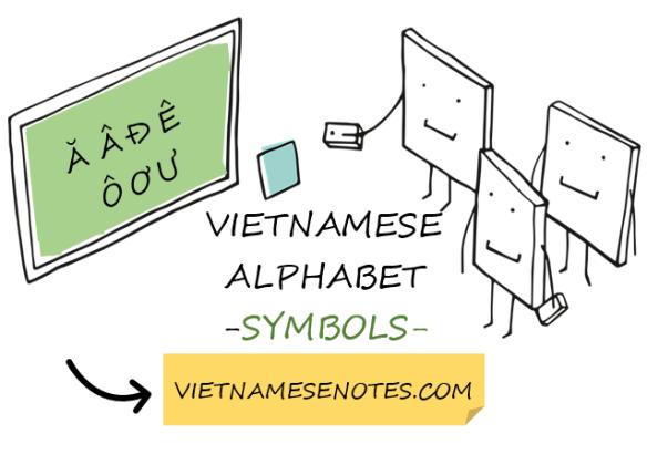 Vietnamese Alphabet Symbols