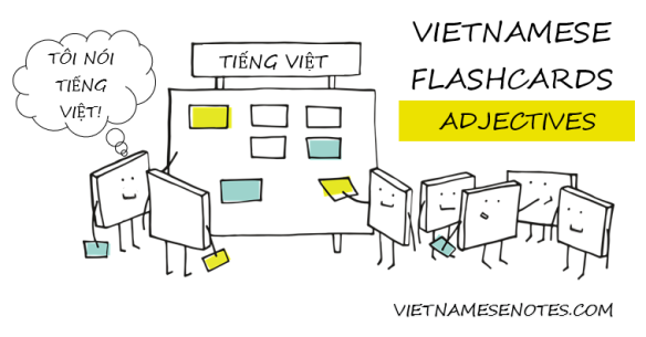 Vietnamese Flashcards (Adjectives)