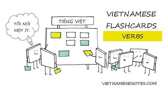 Vietnamese Flashcards (Vietnamese Verbs)