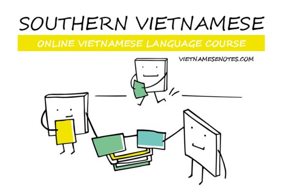 Online Vietnamese Language Course Graphic