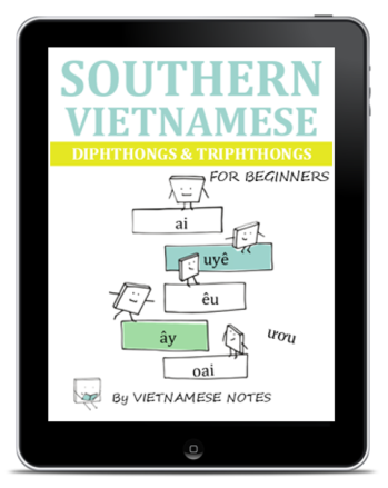 Vietnamese Diphthongs & Triphthongs (Tablet)