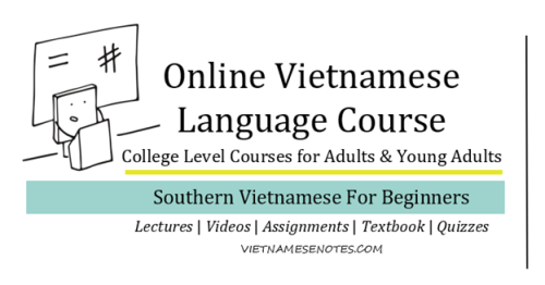 Online Vietnamese Language Course_Southern Vietnamese Language