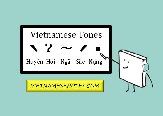 Vietnamese Tones